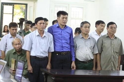 9 cựu cán bộ sai phạm quản lý đất đai ở xã Đồng Tâm được giảm án, bác kháng cáo kêu oan