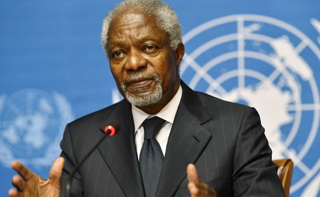 Ghana tuyên bố tổ chức quốc tang 1 tuần để tưởng niệm Cố tổng thư ký Liên Hợp Quốc Kofi Annan