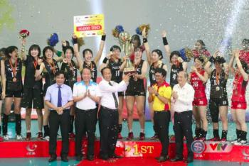 CLB của Nhật Bản vô địch giải bóng chuyền nữ quốc tế