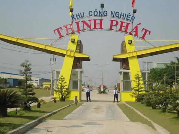 Điều chỉnh chủ trương đầu tư Dự án KCN Thịnh Phát