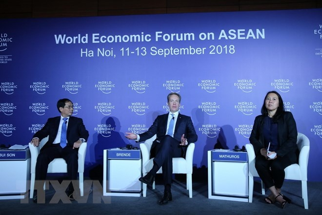 wef asean 2018 la hoi nghi thanh cong nhat trong vong 27 nam