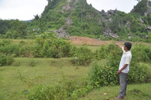 Thừa Thiên-Huế: Người phụ nữ bị đá đè tử vong tại khu vực mỏ đá sau tiếng mìn nổ