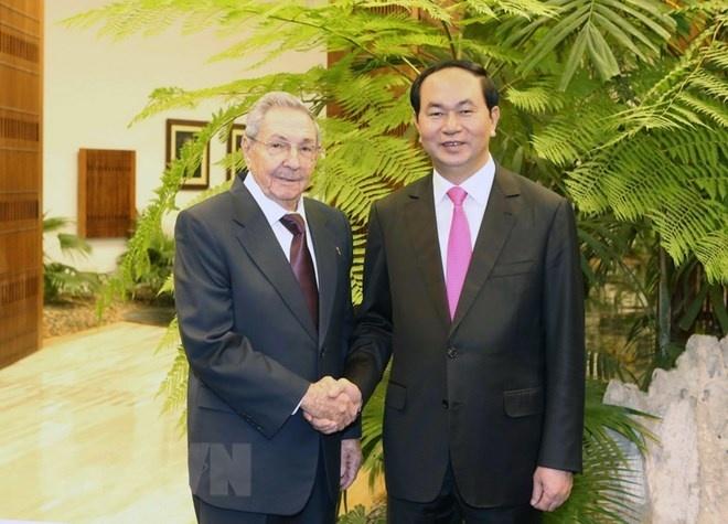 Lãnh đạo Đảng, Nhà nước Cuba chia buồn việc Chủ tịch nước từ trần