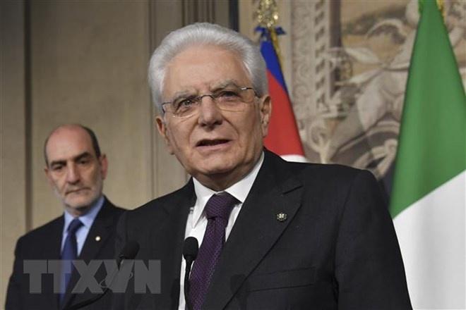 Tổng thống Italy gửi điện chia buồn về việc Chủ tịch nước nước từ trần