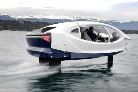 Pháp thử nghiệm taxi bay chở khách trên sông Seine