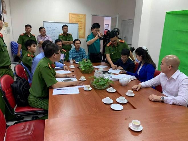 Khám xét trụ sở địa ốc Alibaba, bắt giữ Giám đốc Nguyễn Thái Lĩnh và Chủ tịch HĐQT Nguyễn Thái Luyện