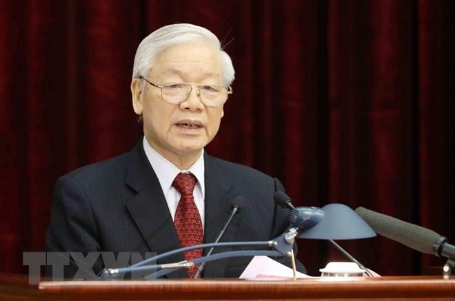 Toàn văn phát biểu của Tổng Bí thư khai mạc Hội nghị Trung ương 8