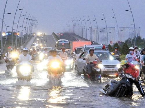 Đảm bảo tiến độ thực hiện Dự án giải quyết ngập do triều khu vực TP Hồ Chí Minh