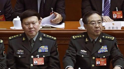 2 cựu tướng cấp cao Trung Quốc bị khai trừ khỏi Đảng, tước quân hàm vì tội tham nhũng