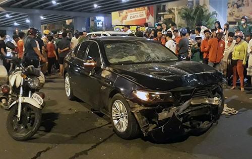 Nữ tài xế lái BMW tông hàng loạt xe máy khiến 1 người thiệt mạng ở TPHCM là chủ một nhà hàng