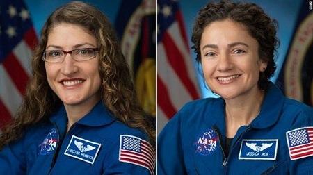 Đoàn phi hành gia toàn nữ lần đầu tiên đi bộ ngoài không gian