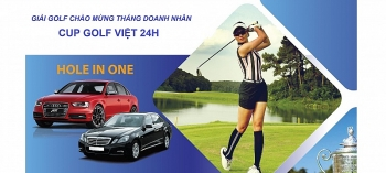 sap dien ra cup golf viet 24h cup vg 24h golf tournament 2019
