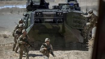 Mỹ tăng cường 3.000 quân cùng máy bay chiến đấu đến Saudi Arabia