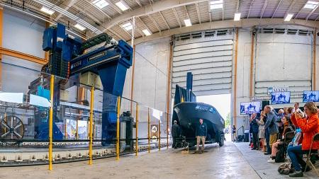Chế tạo tàu thủy từ máy in 3D lớn nhất thế giới