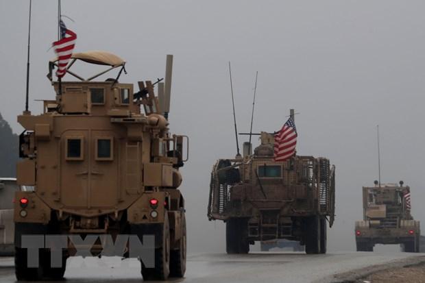 Quân đội  Mỹ ở Syria rút sang miền Tây Iraq để tiếp tục truy quét IS