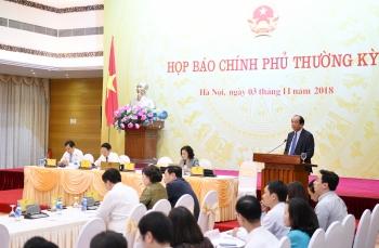 noi dung hop bao chinh phu thuong ky thang 10