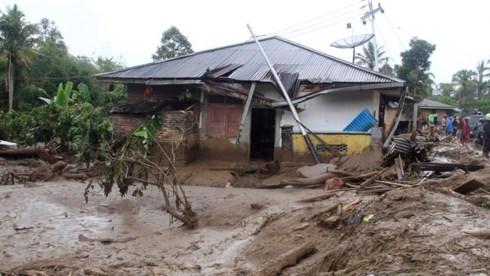 Indonesia: Sạt lở đất làm chết toàn bộ 7 người trong một ngôi nhà