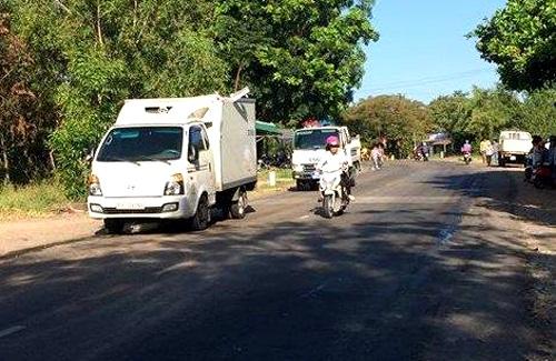 Bình Thuận: Xe quân sự gặp nạn trên đường đến thao trường, 4 quân nhân thương vong