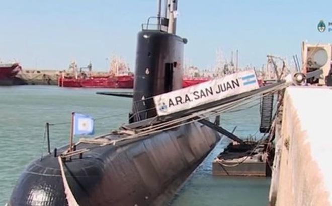 Phát hiện tàu ngầm Argentina bị đắm ở Đại Tây Dương: Vẫn chưa thể trục vớt