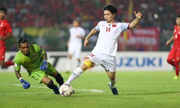 vff aff suzuki cup 2018 myanmar vs viet nam 0 0 chia diem dang tiec