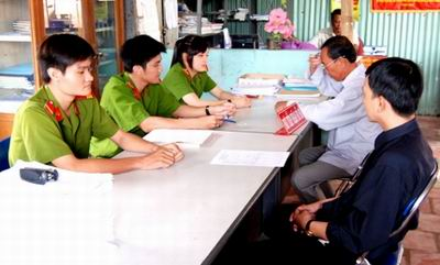 du thao quy dinh ve to cao va giai quyet to cao trong cand