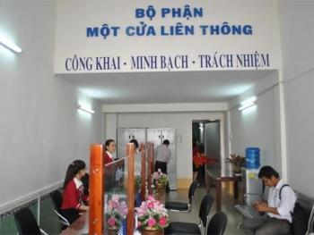 huong dan giai quyet thu tuc hanh chinh tai bo phan mot cua
