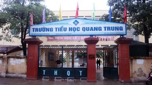 Thông tin mới vụ học sinh lớp 2 bị phạt tát 50 cái ở Hà Nội