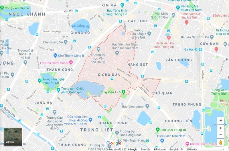 Phó Thủ tướng giao Hà Nội thực hiện rà soát lại toàn bộ nội dung dự án Quy hoạch sử dụng đất phường Ô Chợ Dừa