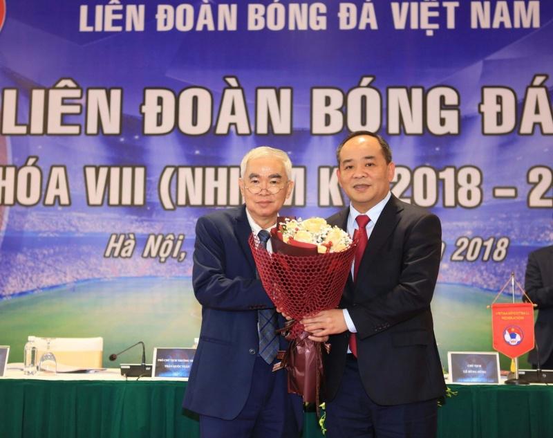 Thứ trưởng Lê Khánh Hải giữ chức Chủ tịch VFF khóa VIII