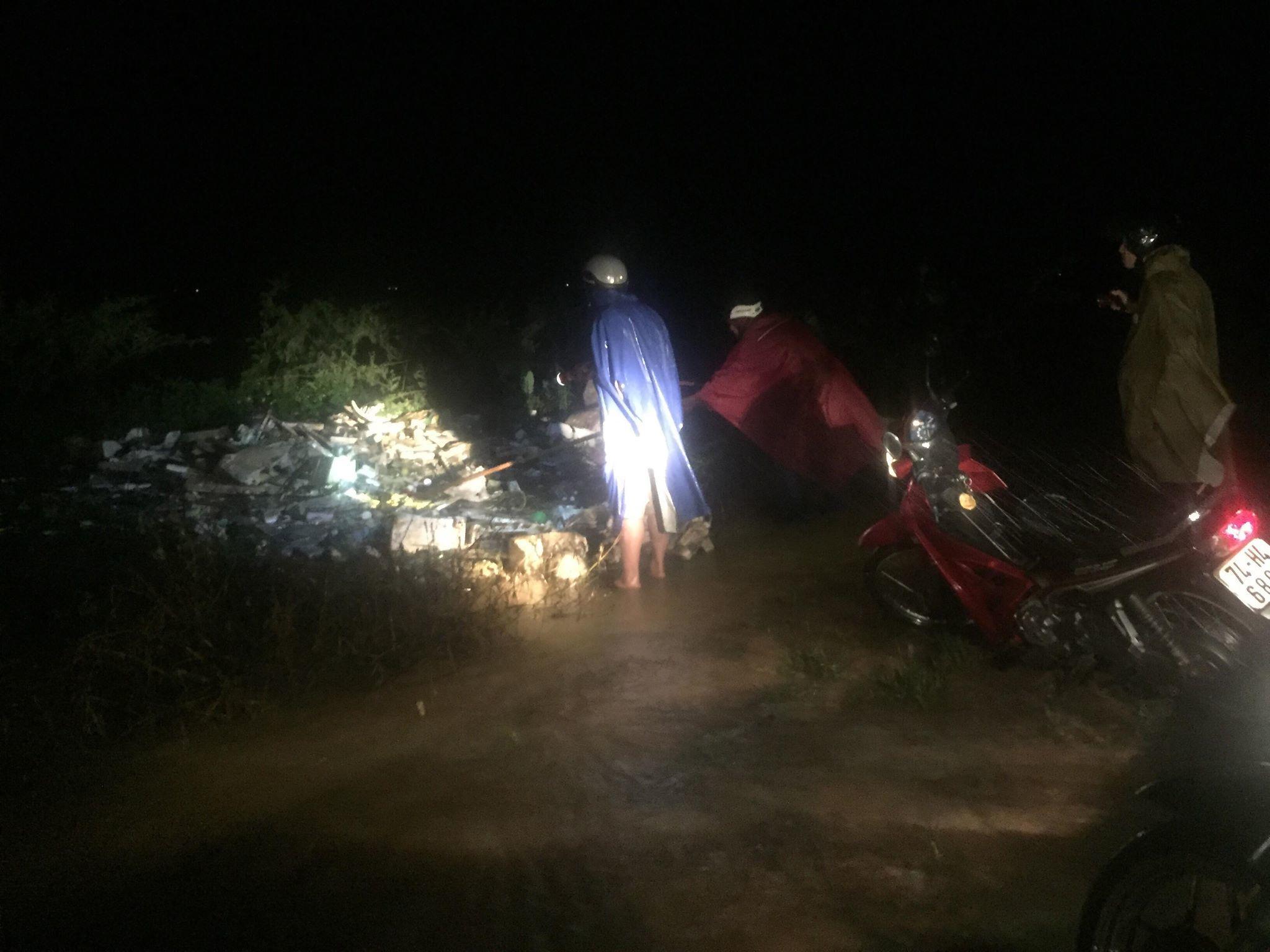 Vụ hai mẹ con bị nước lũ cuốn trôi tại Quảng Trị: Tìm thấy thi thể người mẹ
