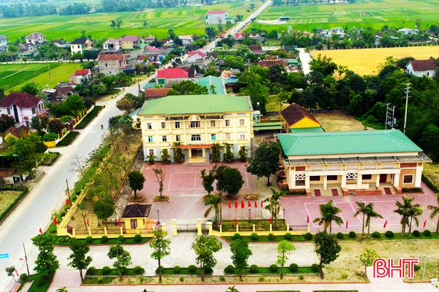 Huyện Nghi Xuân, Hà Tĩnh đạt chuẩn nông thôn mới