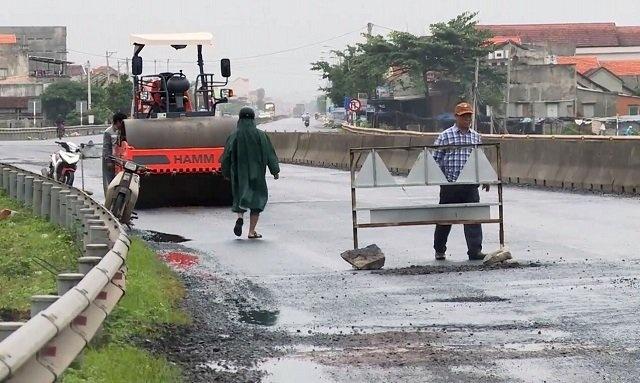 Xử lý hàng loạt cán bộ và nhà thầu liên quan đến QL1 đoạn Phú Yên hư hỏng