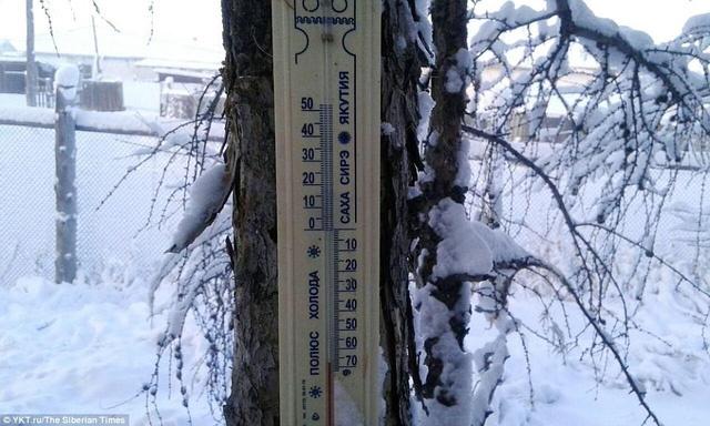 Nơi lạnh nhất thế giới khiến nhiệt kế cũng có thể vỡ tung vì quá lạnh