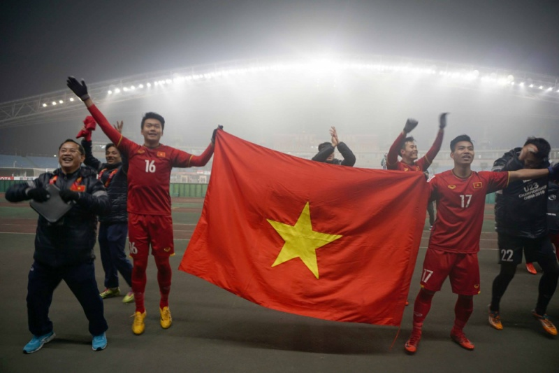 Nhiều nơi cho học sinh, nhân viên nghỉ để cổ vũ U23 Việt Nam gặp U23 Qatar