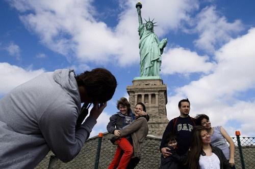Tượng Nữ thần Tự do mở đã cửa trở lại