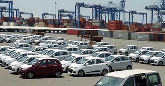 Đề xuất về cửa khẩu nhập khẩu ô tô chở người dưới 16 chỗ