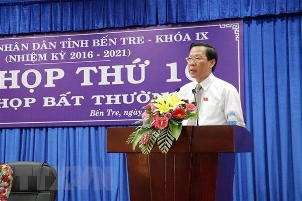 ong phan van mai duoc bau lam chu tich hoi dong nhan dan tinh ben tre