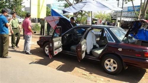 Bình Phước: Điều tra nghi vấn ô tô của cán bộ Chi cục Kiểm lâm bị cài mìn tự chế