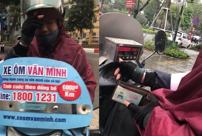 Tài xế xe ôm Văn Minh hoàn tiền, xin lỗi vì 'chặt chém' hành khách