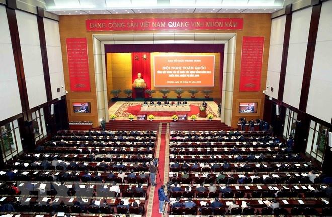 Hội nghị toàn quốc tổng kết công tác tổ chức xây dựng Đảng