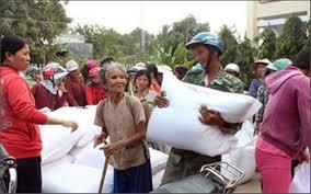 Hỗ trợ gạo cho 2 tỉnh dịp Tết Nguyên đán