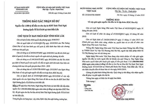 dak lak dieu tra gia mao van ban cua ubnd tinh ngan hang nha nuoc