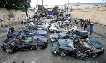 tong thong philippines ra lenh pha huy 30 sieu xe nhap lau