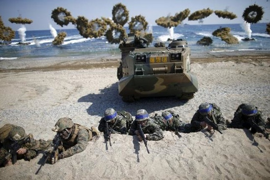 Hàn Quốc sẽ vẫn tiến hành tập trận chung với Mỹ trong năm nay