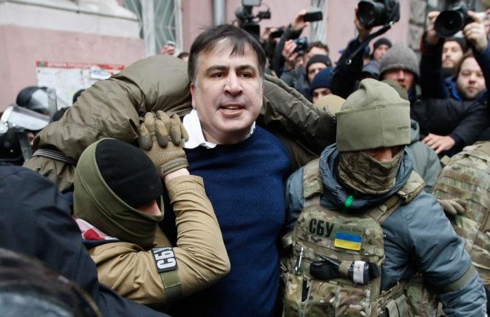 Ukraine: Cựu Tổng thống Gruzia Saakashvili bị cấm nhập cảnh trong 3 năm