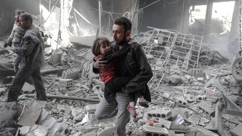 Chiến sự tại Syria: 'vùng giảm căng thẳng' lại căng thẳng