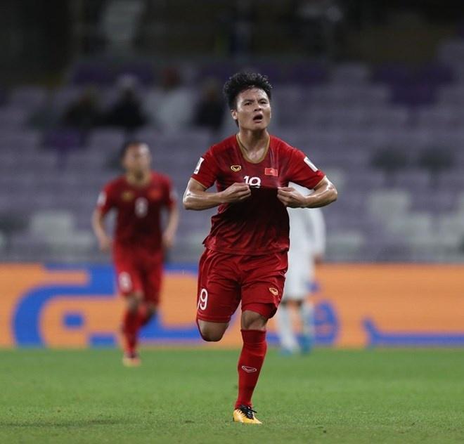 Nguyễn Quang Hải giành giải Bàn thắng đẹp nhất Asian Cup 2019