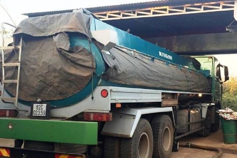 Đắk Lắk: Phát hiện 18.000 lít xăng không rõ nguồn gốc