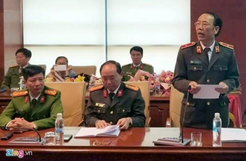 Họp báo vụ nữ sinh bị sát hại ở Điện Biên