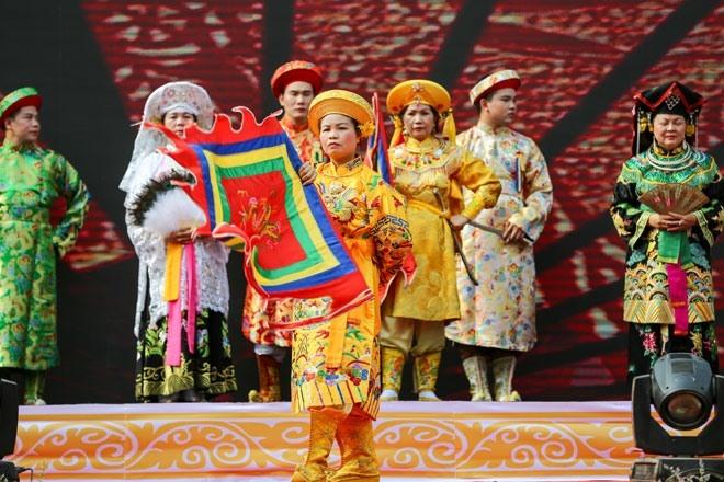 Lào Cai: Trình diễn thực hành nghi thức thực hành tín ngưỡng thờ Mẫu
